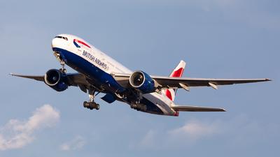 G-VIIJ - Boeing 777-236(ER) - British Airways