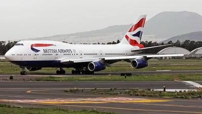 G-CIVT - Boeing 747-436 - British Airways