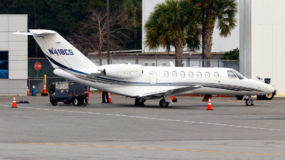 N418CS - Cessna 525B CitationJet 3 - Private
