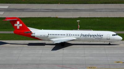 HB-JVE - Fokker 100 - Helvetic Airways