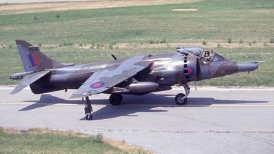 XZ987 - Hawker Siddeley Harrier GR.3 - United Kingdom - Royal Air Force (RAF)