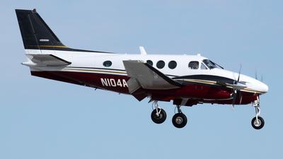 N104AJ - Beechcraft C90A King Air - Private