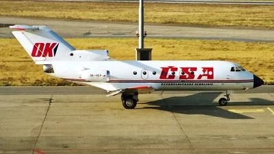 OK-HEP - Yakovlev Yak-40K - CSA Ceskoslovenske Aerolinie