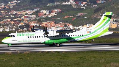 A picture of ECLGF - ATR 72500 - Binter Canarias - © calco7