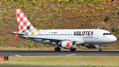 EI-FXM - Airbus A319-112 - Volotea