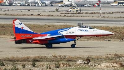 RF-91933 - Mikoyan-Gurevich MiG-29 Fulcrum - Russia - Air Force