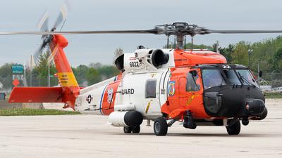 6022 - Sikorsky HH-60J Jayhawk - United States - US Coast Guard (USCG)