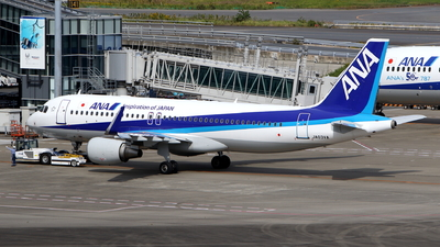 JA03VA - Airbus A320-216 - All Nippon Airways (ANA)