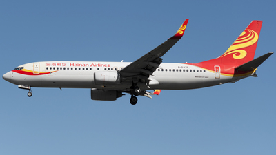 B-5375 - Boeing 737-84P - Hainan Airlines