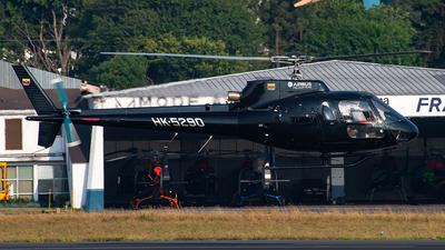 HK-5290 - Eurocopter AS 350BA Ecureuil - ACA Aerocharter de Antioquia