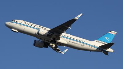 9K-AKI - Airbus A320-214 - Kuwait Airways