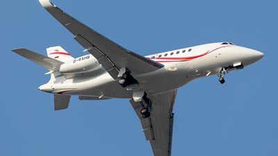 D-BAHB - Dassault Falcon 2000LX - MHS Aviation