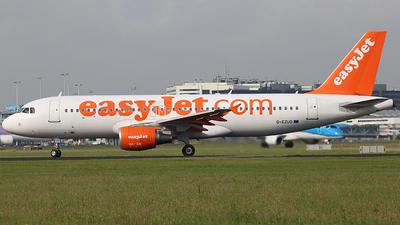 G-EZUO - Airbus A320-214 - easyJet
