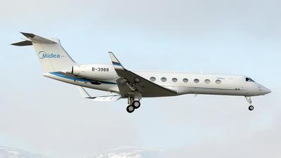 B-3988 - Gulfstream G550 - Beijing Airlines