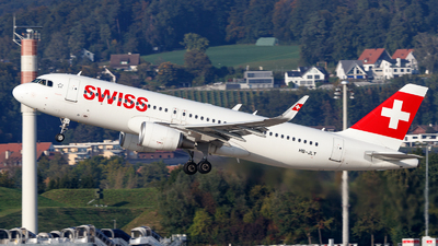 A picture of HBJLT - Airbus A320214 - Swiss - © TJDarmstadt