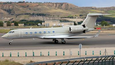 VP-CTA - Gulfstream G550 - Tango Flugbetrieb