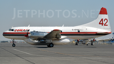 A picture of CGYXC - Convair CV580 - Conair - © Jay Selman - airlinersgallery.com