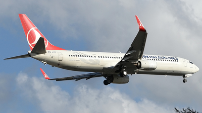A picture of TCJYP - Boeing 7379F2(ER) - Turkish Airlines - © Savas binici
