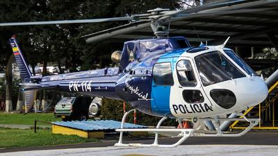 PN-114 - Eurocopter AS 350B2 Ecureuil - Ecuador - Police