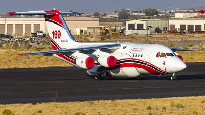 N325AC - British Aerospace Avro RJ85 - AeroFlite