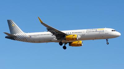 A picture of ECMPV - Airbus A321231 - Vueling - © Alexander Portas