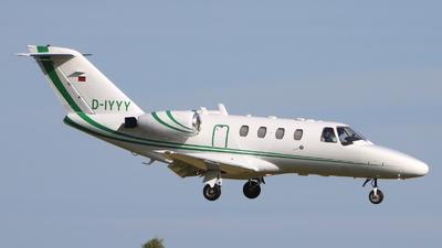 D-IYYY - Cessna 525 Citation CJ1 - Private