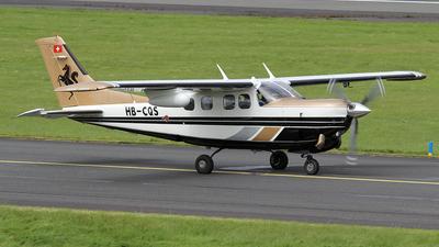 HB-CQS - Cessna P210N Silver Eagle - Private