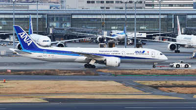 JA897A - Boeing 787-9 Dreamliner - All Nippon Airways (ANA)