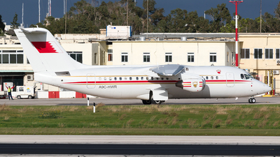 A9C-HWR - British Aerospace Avro RJ85 - Bahrain - Royal Flight