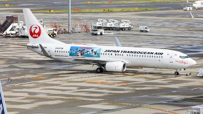 JA09RK - Boeing 737-8Q3 - Japan Transocean Air - Flightradar24