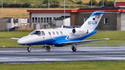 EC-LCM - Cessna 525 CitationJet 1 - Private