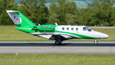 N55CJ - Cessna 525 CitationJet 1 - Private