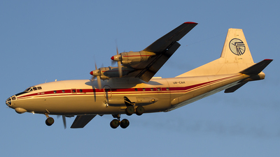UR-CAH - Antonov An-12BK - Ukraine Air Alliance (UAA)