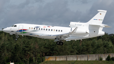 D-AGBF - Dassault Falcon 7X - VW Air Services