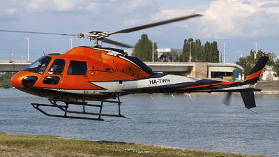HA-TWN - Eurocopter AS 355F2+ Ecureuil - FLY4less