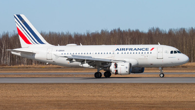 A picture of FGRHH - Airbus A319111 - Air France - © KomradAlexey