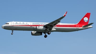 B-300A - Airbus A321-231 - Sichuan Airlines