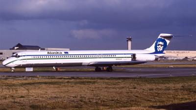 N936AS - McDonnell Douglas MD-83 - Alaska Airlines