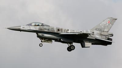 4056 - Lockheed Martin F-16C Fighting Falcon - Poland - Air Force