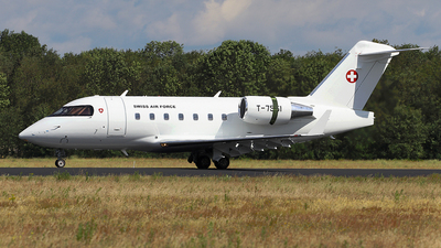 T-751 - Bombardier CL-600-2B16 Challenger 604 - Switzerland - Air Force