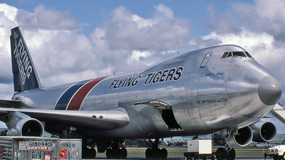 N816FT - Boeing 747-245F(SCD) - Flying Tigers