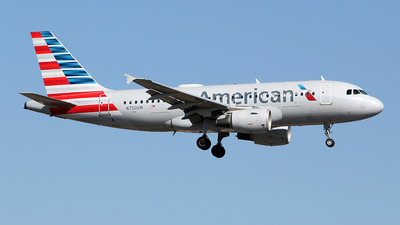 A picture of N750UW - Airbus A319112 - American Airlines - © toyo_69pr