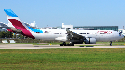 D-AXGE - Airbus A330-203 - Eurowings (SunExpress Germany)