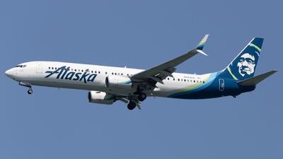 A picture of N442AS - Boeing 737990(ER) - Alaska Airlines - © Angelos Panou