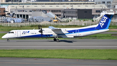 A picture of JA462A - De Havilland Canada Dash 8400 - All Nippon Airways - © S.Choby