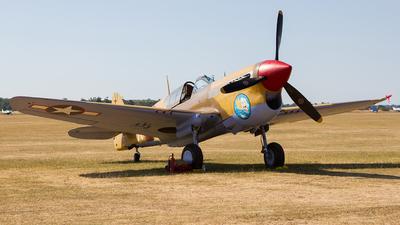 G-CGZP - Curtiss P-40 Kittyhawk - Private