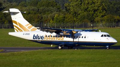 G-ZEBS - ATR 42-320 - Blue Islands