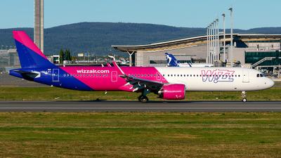HA-LVY - Airbus A321-271NX - Wizz Air