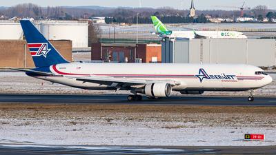 A picture of N319CM - Boeing 767338(ER)(BDSF) - Amerijet International - © J.Evrard-AirTeamImages