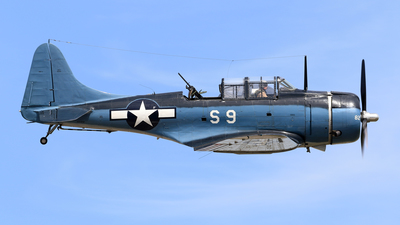 N93RW - Douglas A-24B Dauntless - Private